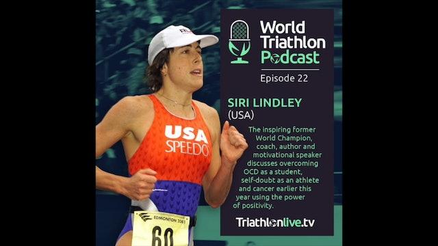 World Triathlon Podcast Ep. 22 Siri Lindley