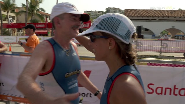 A triathlon family, from Mexico, aiming for the World Championships