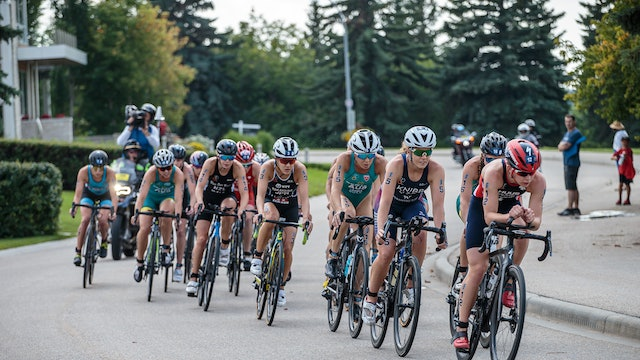 ITU World Triathlon Edmonton: Women's Highlights