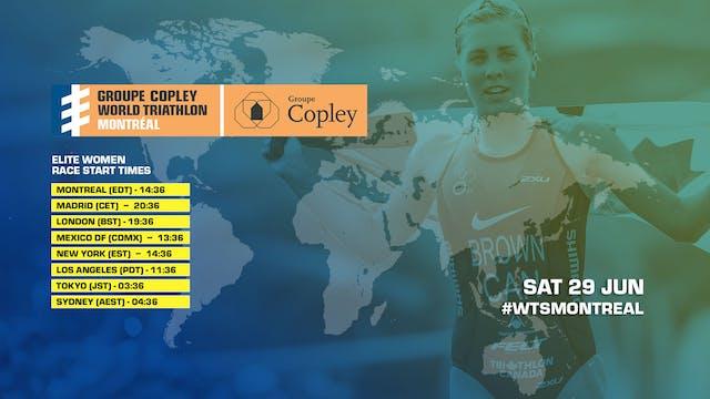 Women - Groupe Copley World Triathlon...