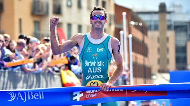 World Triathlon Videocast: Jake Birtw...