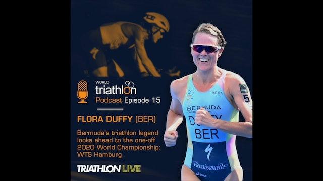 World Triathlon podcast Ep.15 Flora Duffy