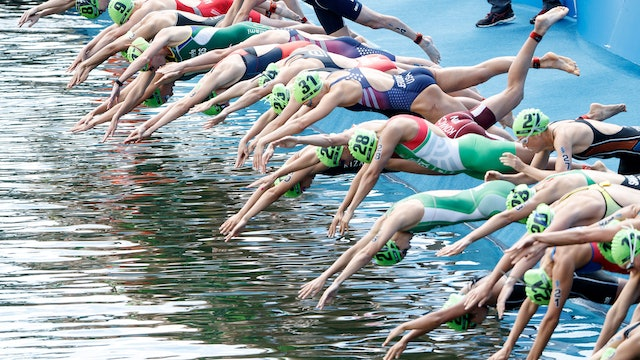 2018 ITU World Triathlon Montreal Elite Women