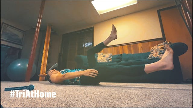 Core session with Katie Zaferes