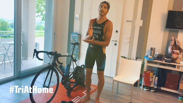 Tri At Home with Alessandro Fabian