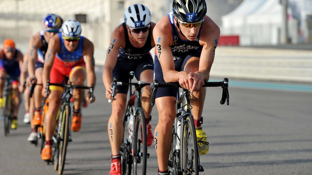 2018 ITU World Triathlon Abu Dhabi Elite Men