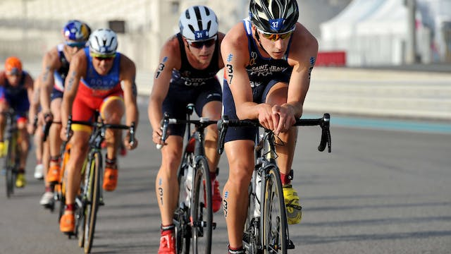 2018 ITU World Triathlon Abu Dhabi El...