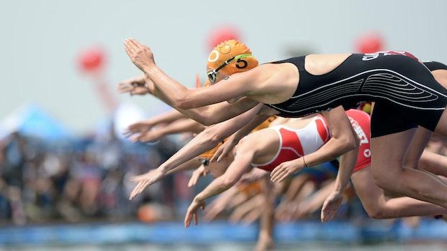 2015 ITU World Triathlon Gold Coast Elite Women