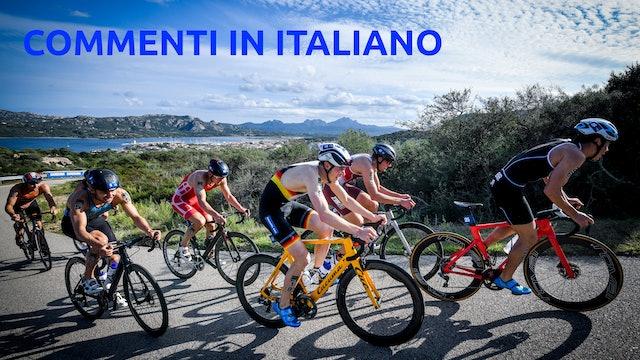 2021 World Triathlon Cup Arzachena - Elite Men - Italian