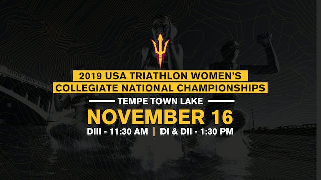 2019 USAT Women's Collegiate Triathlo...