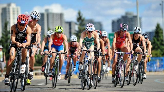 2015 ITU World Triathlon Edmonton Elite Women