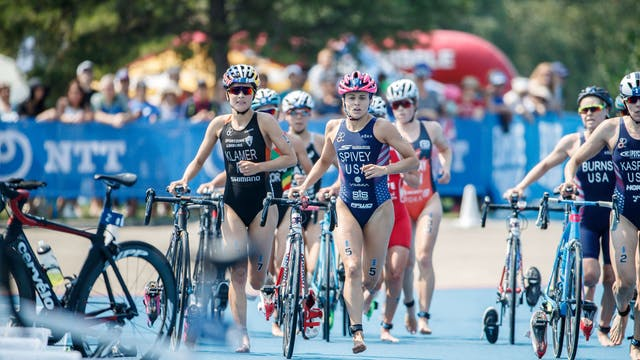 2018 ITU World Triathlon Edmonton Eli...