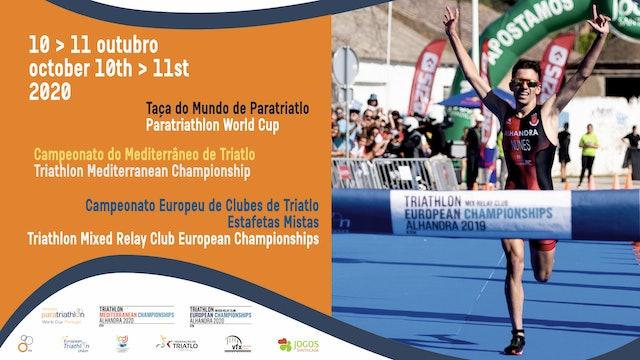 2020 Alhandra ETU Triathlon Mediterranean Championships: Elite women