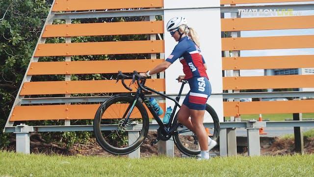 Tamara Gorman - New Plymouth pre race...