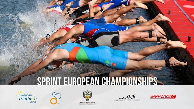 2019 Kazan ETU Sprint Triathlon European Champs