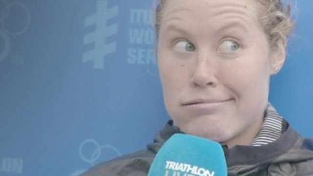 Chelsea Burns: Leeds post-race interview