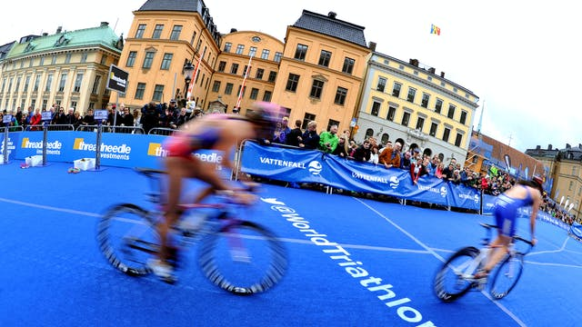 2015 ITU World Triathlon Stockholm Ma...