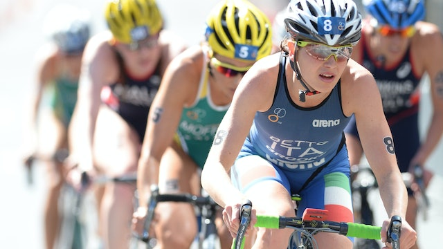 2015 ITU World Triathlon Abu Dhabi Elite Women