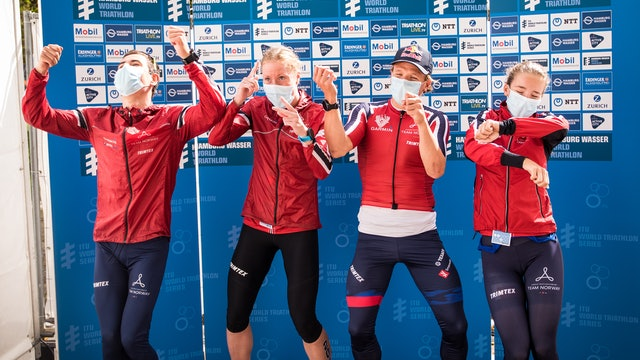 Behind the scenes of WTS Hamburg with Team Norway
