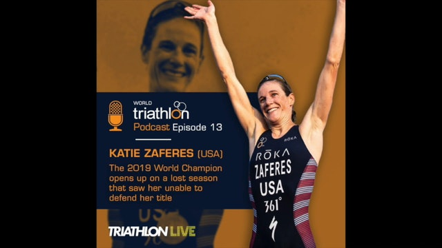 World Triathlon podcast Ep.13 Katie Zaferes