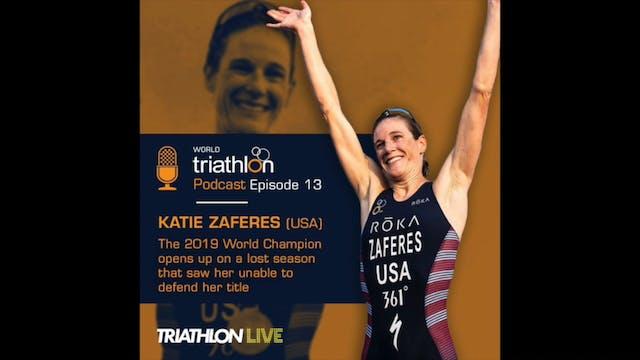 World Triathlon podcast Ep.13 Katie Z...