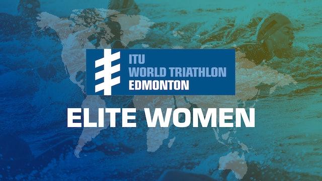 2019 ITU World Triathlon Edmonton Elite Women