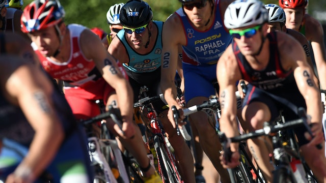 2016 ITU World Triathlon Cape Town Elite Men