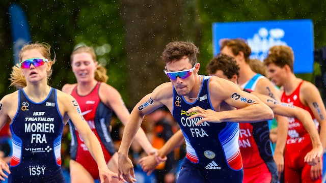 2019 Accenture World Triathlon Mixed Relay Nottingham: full replay