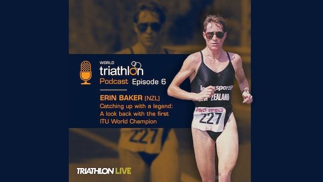 World Triathlon podcast Ep.6 Erin Baker