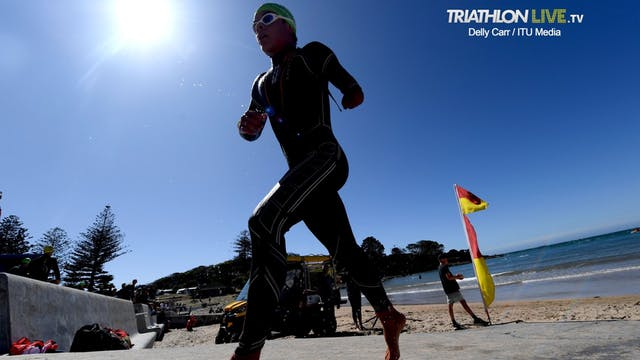 2020 World Paratriathlon Series Devon...