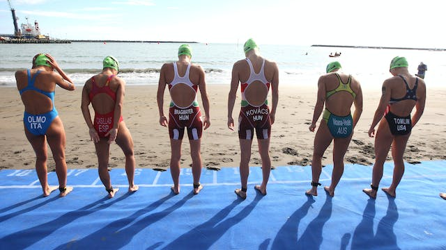 Elite Women - New Plymouth ITU Triath...