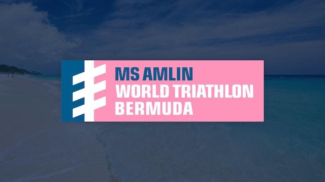 Elite Women - MS Amlin World Triathlon Bermuda 2019