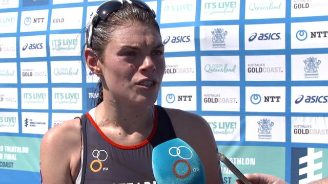 2018 ITU World Triathlon Gold Coast -...