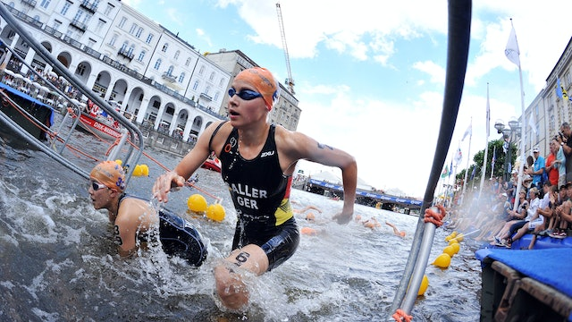 2015 ITU World Triathlon Hamburg Elite Women
