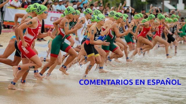 Copa del Mundo de Triatlón Huatulco - Prueba Femenina - ESPAÑOL