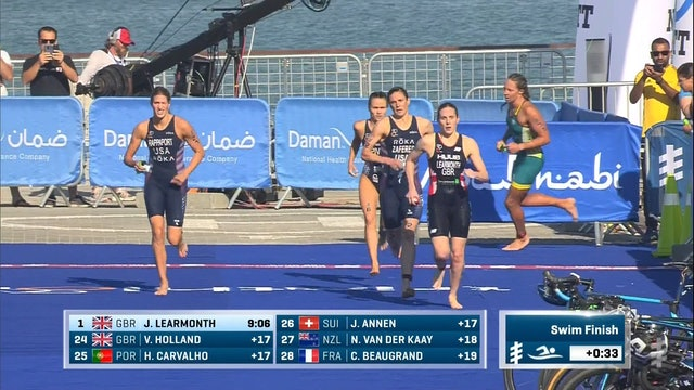 Daman World Triathlon Abu Dhabi: Women's Highlights
