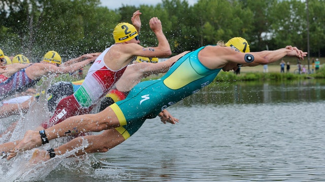 World Triathlon Championship Finals Edmonton - U23 Men