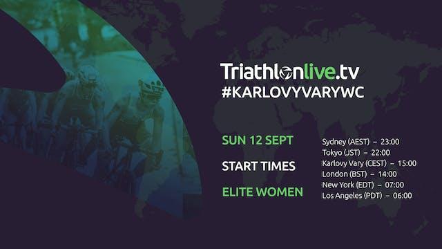 2021 World Triathlon Cup Karlovy Vary...