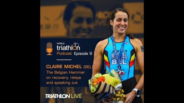 World Triathlon podcast Ep.9 Claire Michel