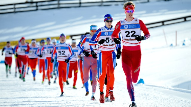 Medal Ceremony - 2019 Asiago ITU Winter Triathlon World Champs