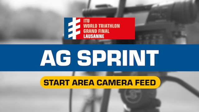 LIVE Start Area Cam - AG Sprint - WTS Lausanne