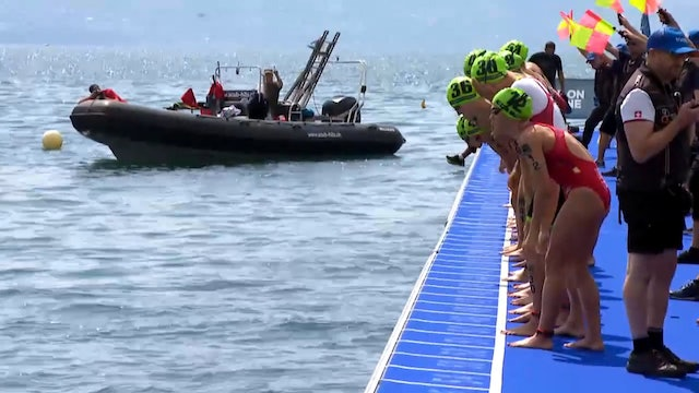 2018 Lausanne ITU Triathlon World Cup Elite Women