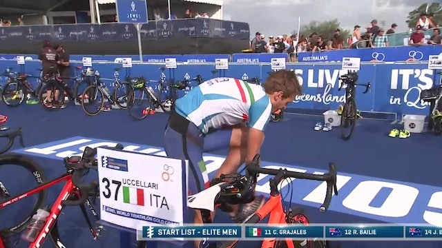 2017 ITU World Triathlon Gold Coast Elite Men