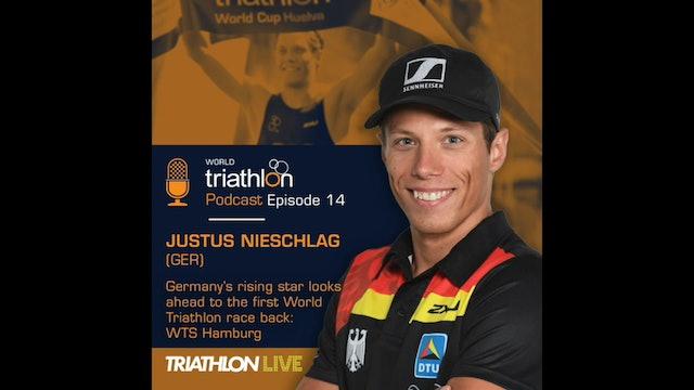 World Triathlon podcast Ep.14 Justus Nieschlag