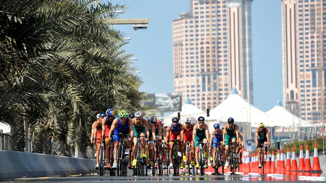 2017 ITU World Triathlon Abu Dhabi El...