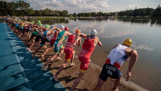 2019 ITU World Triathlon Edmonton: Me...