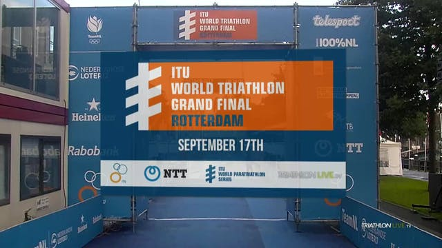 Elite Paratriathlon World Championshi...
