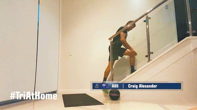 Training at home with Craig Alexander
