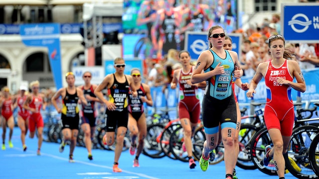 2016 ITU World Triathlon Hamburg Elite Women