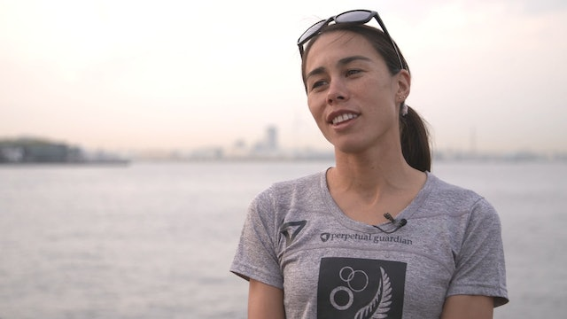 Interview with Andrea Hewitt ahead of 2017 WTS Yokohama